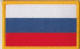 Russia Embroidered Flag Patch, style 08.